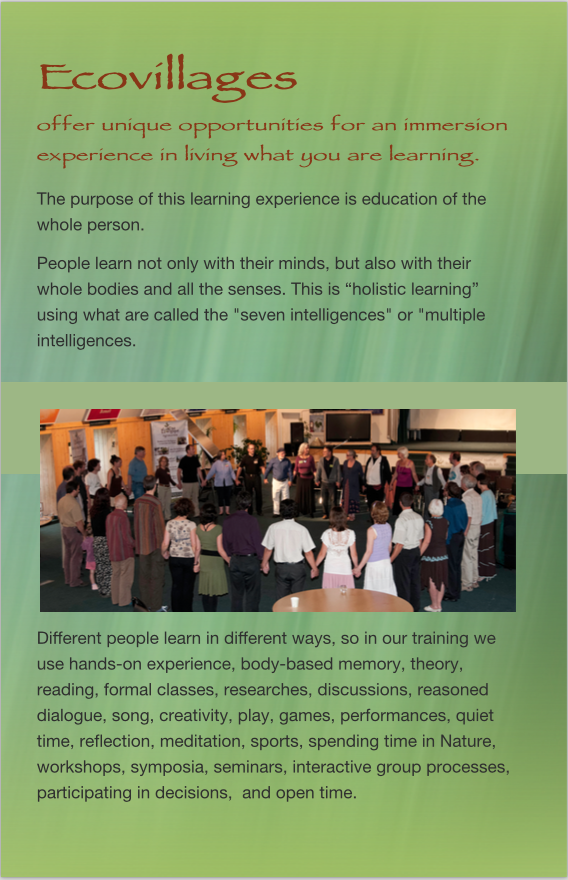 Brochure Learning Center